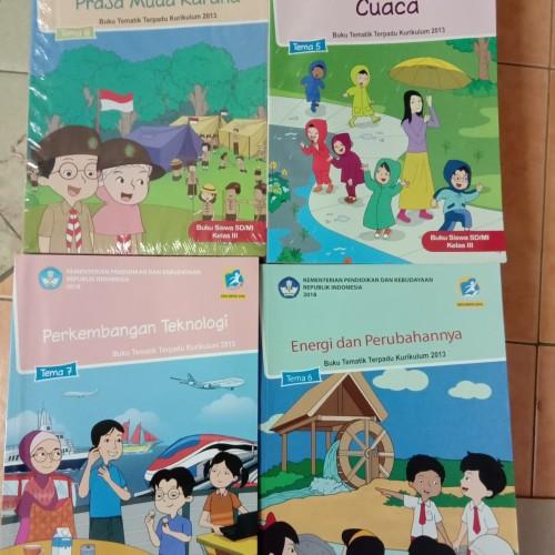 Foto Produk Paket Buku Tematik SD kelas. 3 Semester 2 Tema. 5,6,7,8 dari Giri Pustaka