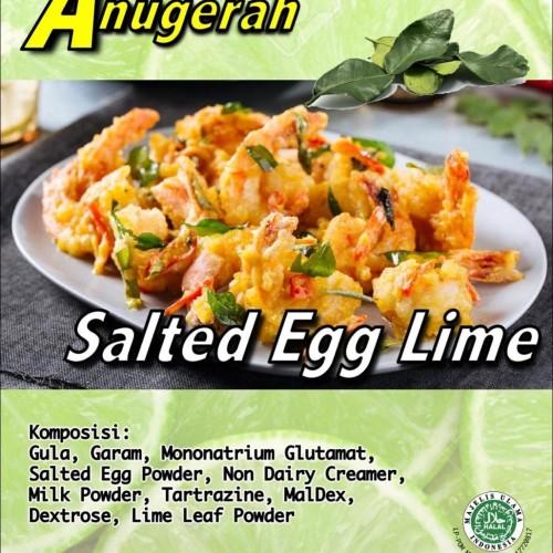 Foto Produk Salted Egg Lime Powder / Saus Telur Asin Jeruk Nipis 100gr dari Bumbu Kekinian