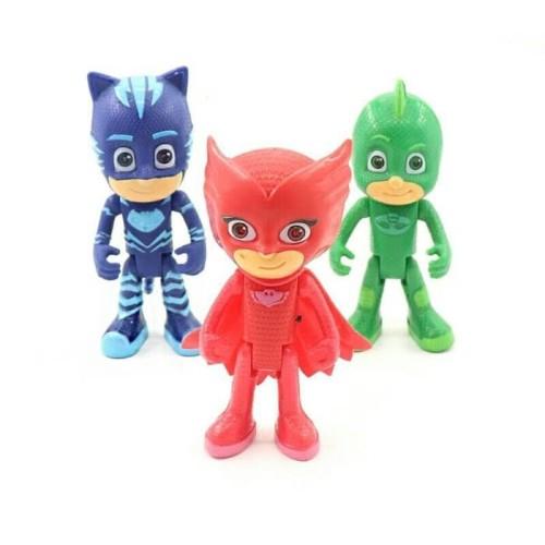 Foto Produk Mainan Pj Masks Besar harga 1 set isi 3 pcs / Kado Mainan Anak Pj Mask dari OyaOna Shop