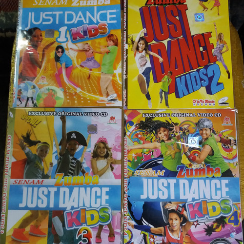 Foto Produk VCD Ekonomis Original SENAM ZUMBA JUST DANCE KIDS . 1 PAKET 4 JUDUL . dari TB Cantika