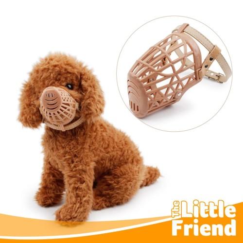 Foto Produk Muzzle Penutup Mulut/Brangus/Brongsong/Aksesoris Pet Anti Bite Anjing - 1 dari The Little Friend