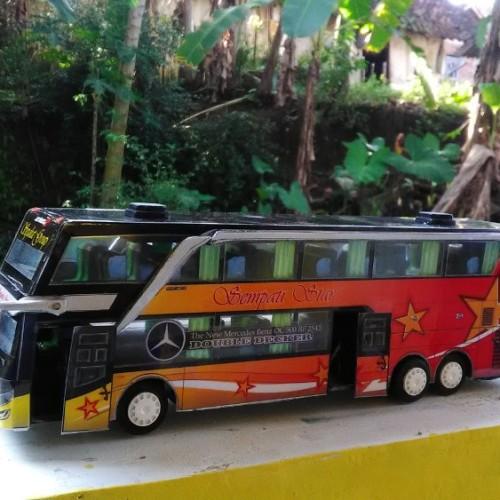 Jual Miniatur Bis Sempati Star Double Decker Full Interior Jakarta Pusat Hover Id Tokopedia