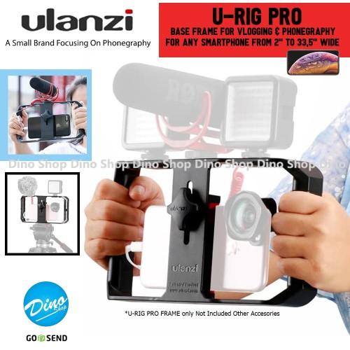 Foto Produk ULANZI U-RIG PRO Smartphone Vlogging Rig Bracket Video Stabilizer HP dari Dino Shop_id