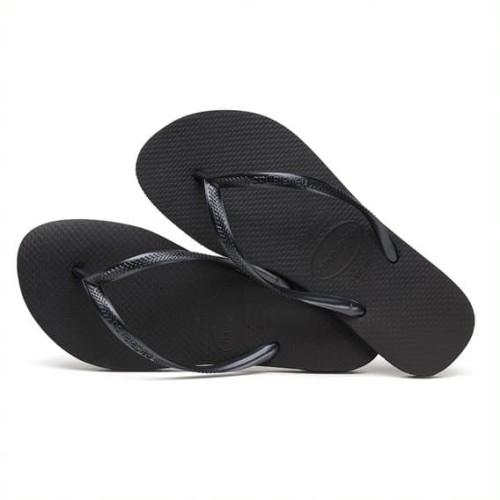 Foto Produk HAVAIANAS SLIM 90-BLACK - BLACK, 35-36 dari Havaianas Official Shop