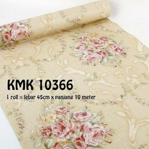 Foto Produk wallpaper dinding shaby cream 45 cm x 10 m dari jay acc