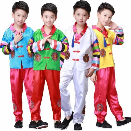 Foto Produk KOREAN Hanbok boy baju tradisional korea kostum anak balita dari Baby Angeline Shop