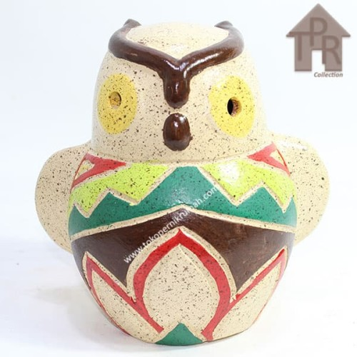 Foto Produk Celengan , burung hantu keramik Plered. dari Toko Pernik Rumah
