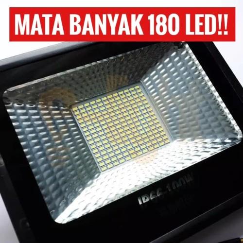 Foto Produk Lampu Sorot tembak LED 100 Watt Mata banyak 180 Mata LED FLOODLIGHT dari CV ELECTRO
