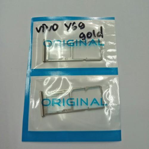 Foto Produk SIMLOCK SIMTRAY SLOT TEMPAT SIM CARD FOR VIVO Y69 ORIGINAL dari KING sparepart