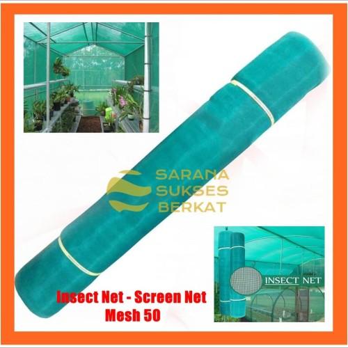 Foto Produk Insect Net - Screen Net - Jaring Penghalang Serangga - Mesh 50 Hijau dari Sarana Sukses Berkat