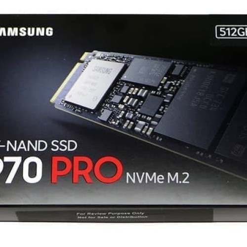 Foto Produk SAMSUNG SSD 970 PRO NVMe. M.2 512TB dari REHAR
