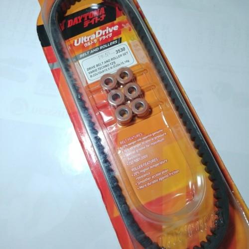 Foto Produk Vanbelt Set Roller Vario 125 Fi Non LED DAYTONA dari Lestari Motor 2