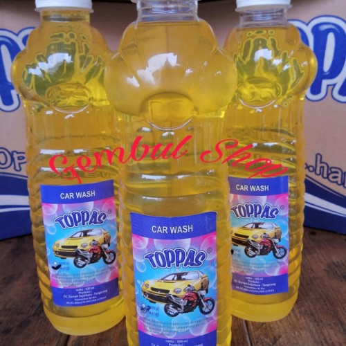 Jual Sabun Cuci Mobil Motor Car Wash Parfum 500 Ml Toppas Kota Tangerang Si Gembul Shop Tokopedia