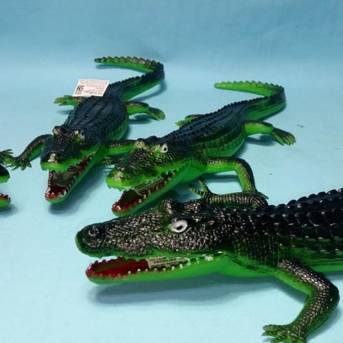 Foto Produk Mainan Anak Hewan Animal Binatang Buaya Crocodille Karet Bunyi dari MAG TOYS