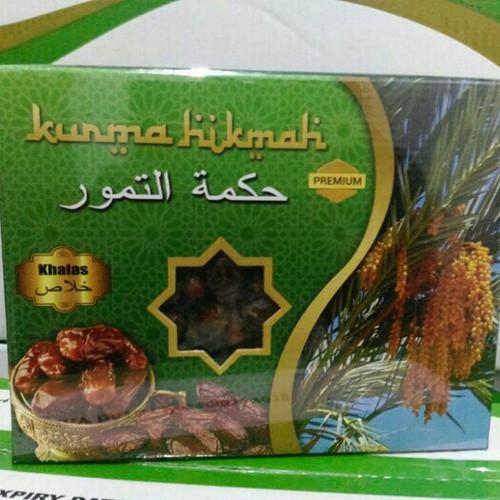 Foto Produk Kurma Hikmah Khalas Date Crown 1 kg dari Semangat HerbaL