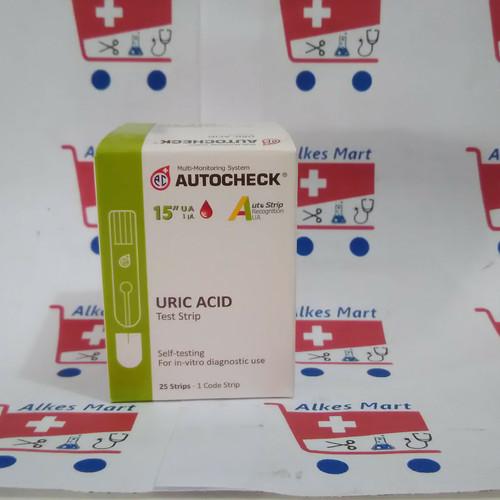 Foto Produk Autocheck strip asam urat uric acid dari ALKES MART