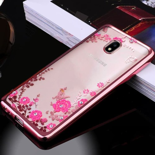 Foto Produk Flower Softcase For Samsung  J7 PRO / J7 2017 dari importking