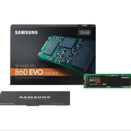 Foto Produk Samsung SSD 860 EVO M.2 250G dari Yoestore