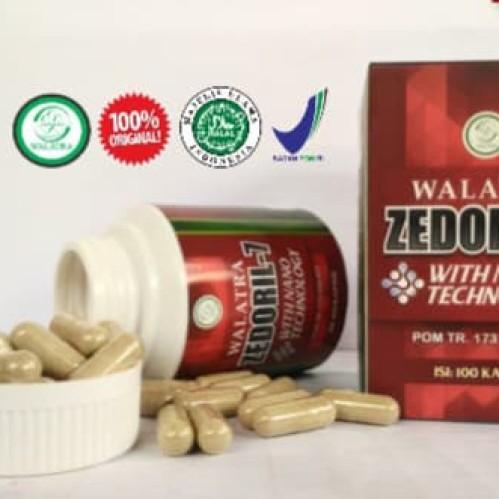 Foto Produk Obat Herbal Kanker Kelenjar Getah Bening TERBAIK - Walatra Zedoril 7 dari Kolom Herbal