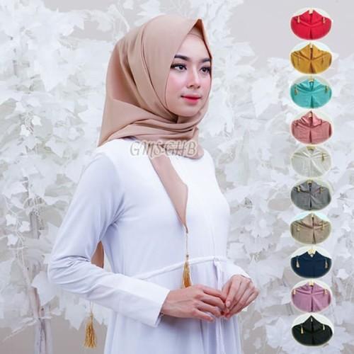 Foto Produk Jelang Ramadhan Triangle / Segiempat Instant Diamond dari Toko Satu Fashion Muslim