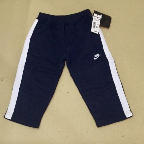 Foto Produk Celana training Nike hitam strip putih lebar - 3-4 tahun dari au'let