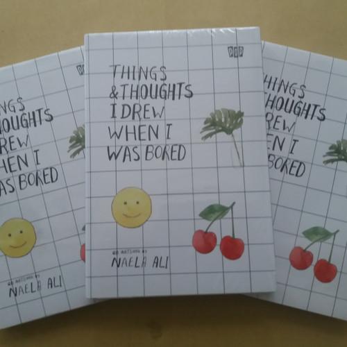 Foto Produk Things & Thoughts I Drew When I Was Bored by Naela Ali dari Showroom Books