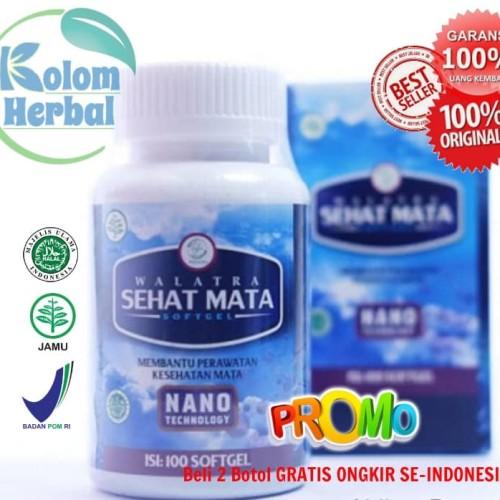 Foto Produk Obat Mata Minus Anak & Dewasa AMAN MUJARAB - Walatra Sehat Mata dari Kolom Herbal