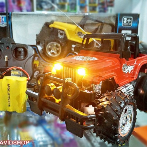 Jual New Rc Jeep King Baterai Charge Mobil Jeep Remot Control Baterai Cas Kebon Jeruk Purnomo Toys Tokopedia