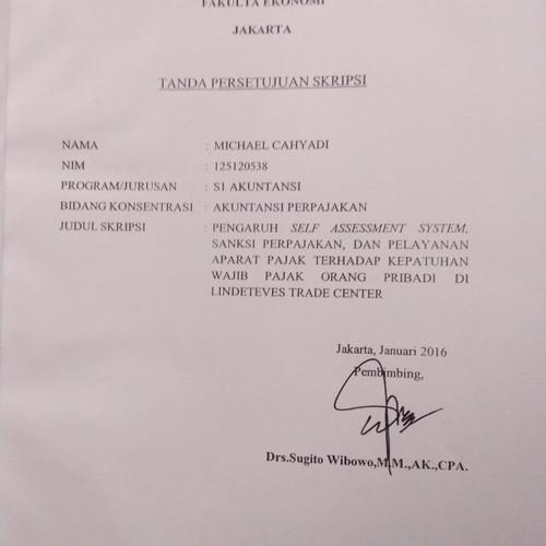 Jual Buku Contoh Skripsi Akuntansi Perpajakan Jakarta Barat Abatastore Tokopedia