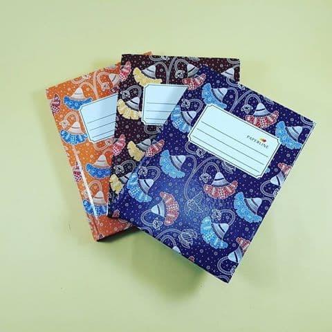 Foto Produk Buku Hardcover Oktavo / A6 isi 100 Paperline dari Groceran Stationary