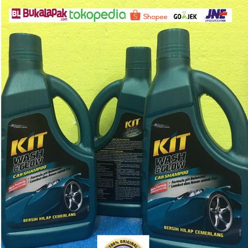 Foto Produk KIT Wash and Glow car shampoo sampo mobil dengan busa pembersih 1 Ltr dari CAKRA DEWA