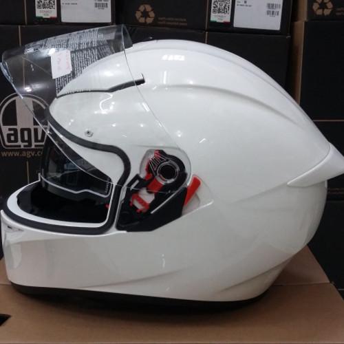 Jual Helm Agv K3 Sv Solid White Kota Surabaya Helm Original Surabaya Tokopedia