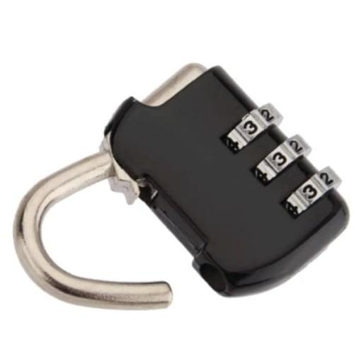 Foto Produk Safety lock 3 digit bahan besi dari good_price store 2