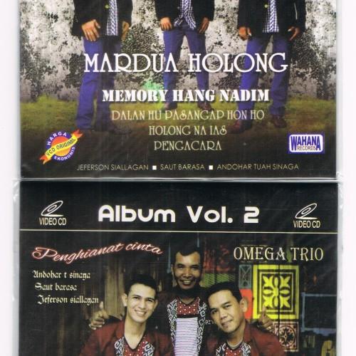Foto Produk VCD original Omega Trio Mardua Holong 2 disc dari Happy Music