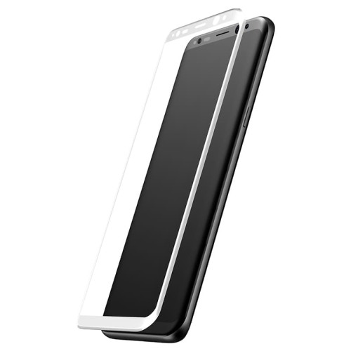 Foto Produk Baseus 3D Arc Tempered Glass Film For SAMSUNG Galaxy S8 Plus - Putih dari Cute Agassi