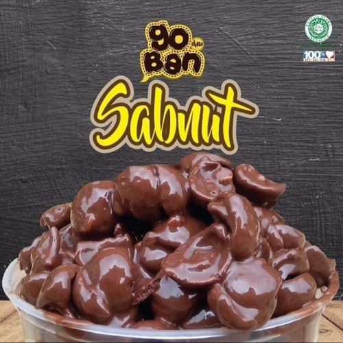 Jual Cokelat Cemilan Coklat Premium Isi Kacang Goban Choco Sabit Nut 120gr Cileungsi Ngemil Yuk Tokopedia