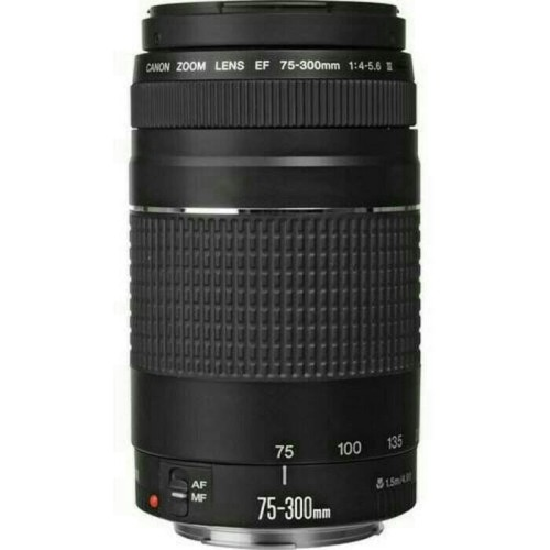 Foto Produk lensa canon EF 75-300mm f/4-5.6 - Hitam dari X ONE CAM