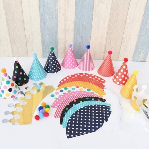 Foto Produk Party Hat Set isi 11 pcs dari Pestaphoria