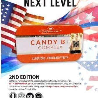 Foto Produk Candy B Plus Candy B Suplemen Herbal Pria Perkasa - Original 12pcs dari bossfull