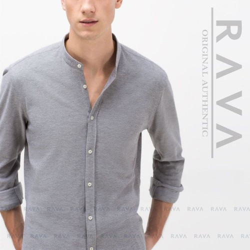 Foto Produk Kemeja Polo Lacoste Kerah Ciangi Lengan Panjang by RAVA (BEST SELLER) - Putih dari RAVA ID