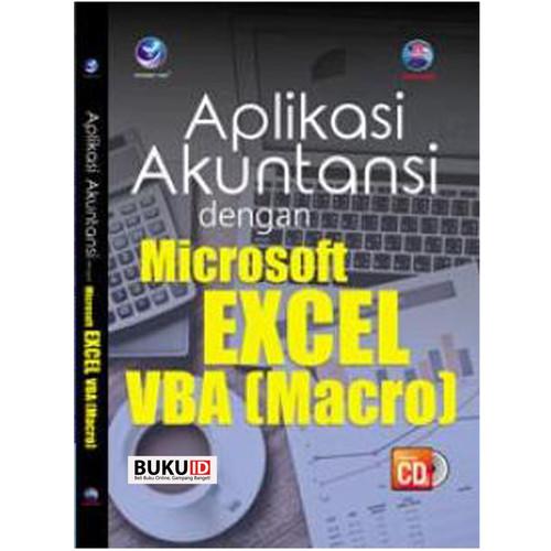 Foto Produk Buku Aplikasi Akuntansi Dengan Microsoft Excel VBA (Macro)+cd dari Buku ID