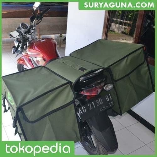 Foto Produk Tas Samping Motor Anti Air Bahan Tebal Dan Sangat Kuat dari SuryaGuna