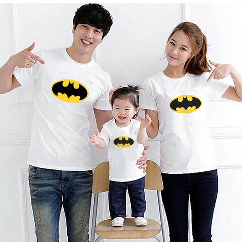 Foto Produk Kaos Couple Family Logo Batman dari lysinshop
