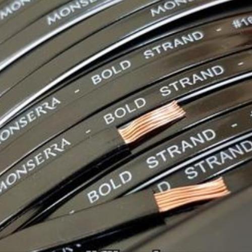 Foto Produk Kabel speaker 16 awg monserra bold strand midbass subwoofer dari Nestaa Audio