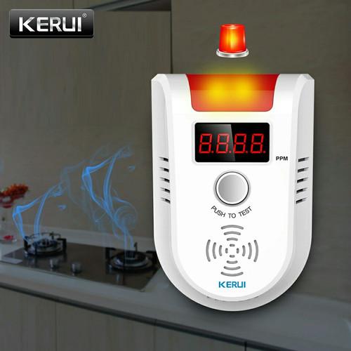Foto Produk KERUI Wireless Detektor Gas bocor LPG Alarm Detector dari Asyam Weiseman