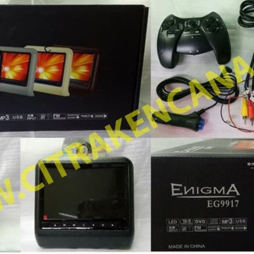 Foto Produk HEADREST DVD MONITOR CLIP-ON ENIGMA dari CITRA KENCANA