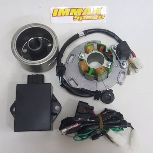 Foto Produk Pengapian YZ 125 magnet racing rx king rxking jupiter z satria Fu F dari Immax Speed