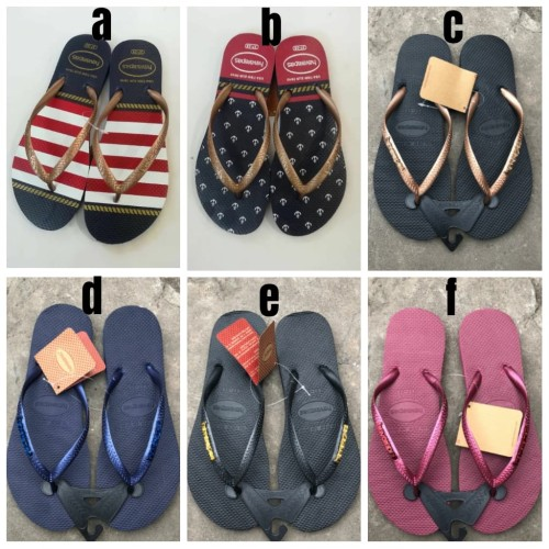 Foto Produk New!! Havaianas Rainbow Flip Sandal for women - Model B, S 35-36 dari vieshoes