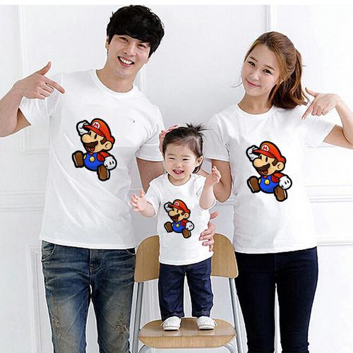 Foto Produk Kaos Couple Family Super Mario Bross dari lysinshop