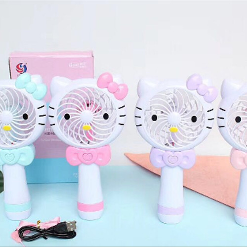 Foto Produk Kipas angin mini usb fan LED karakter dari Babyhoneybears